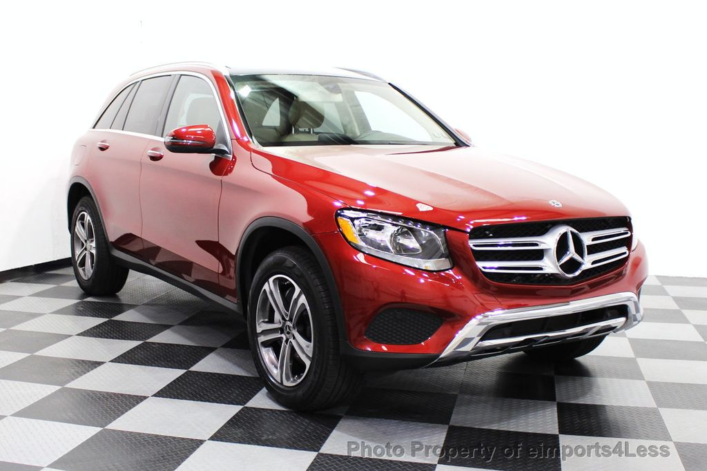 2018 Mercedes-Benz GLC CERTIFIED GLC300 4MATIC Pano Nav BLIS Camera - 18257420 - 1