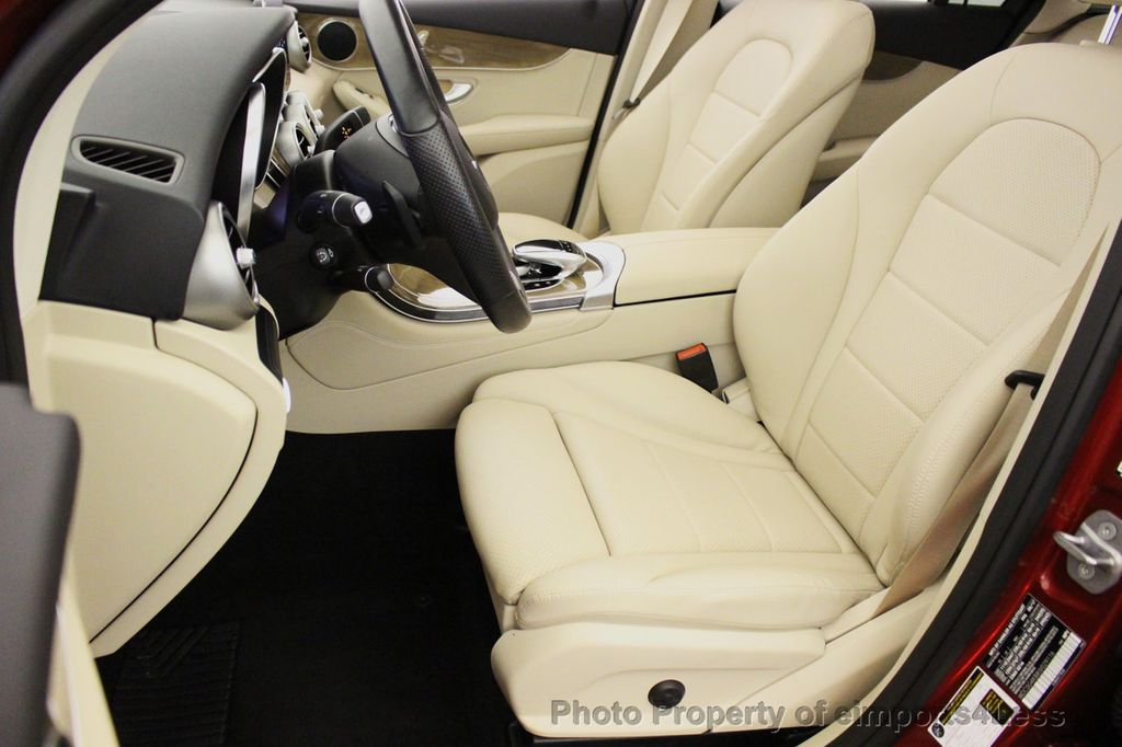 2018 Mercedes-Benz GLC CERTIFIED GLC300 4MATIC Pano Nav BLIS Camera - 18257420 - 24
