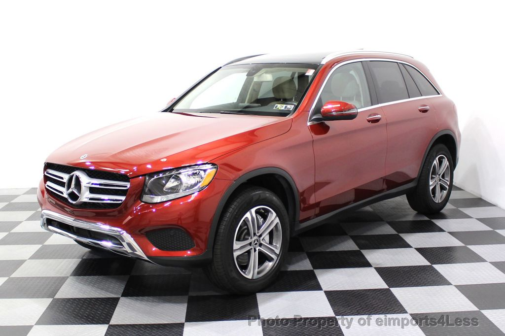 2018 Mercedes-Benz GLC CERTIFIED GLC300 4MATIC Pano Nav BLIS Camera - 18257420 - 29