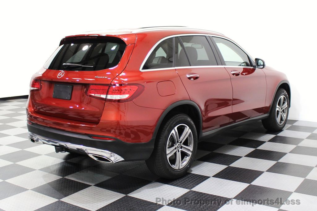 2018 Mercedes-Benz GLC CERTIFIED GLC300 4MATIC Pano Nav BLIS Camera - 18257420 - 33