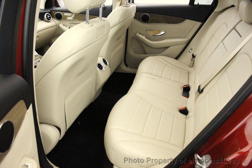 2018 Mercedes-Benz GLC CERTIFIED GLC300 4MATIC Pano Nav BLIS Camera - 18257420 - 37