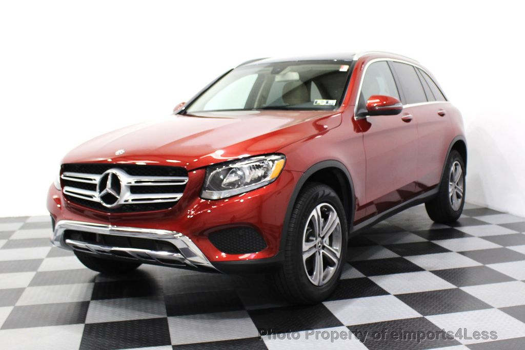 2018 Mercedes-Benz GLC CERTIFIED GLC300 4MATIC Pano Nav BLIS Camera - 18257420 - 46