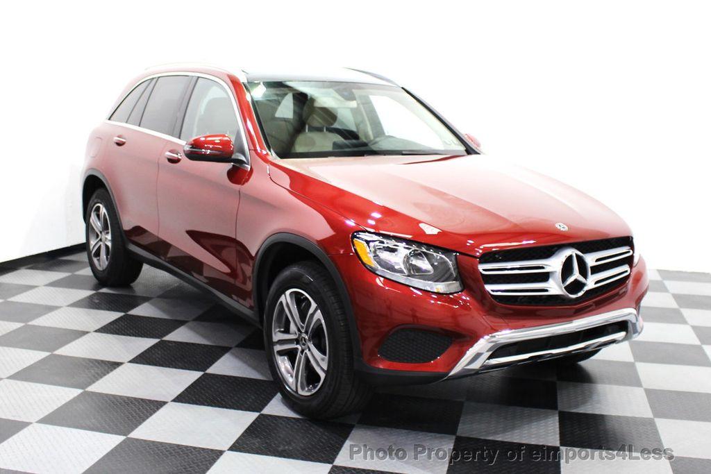 2018 Mercedes-Benz GLC CERTIFIED GLC300 4MATIC Pano Nav BLIS Camera - 18257420 - 47