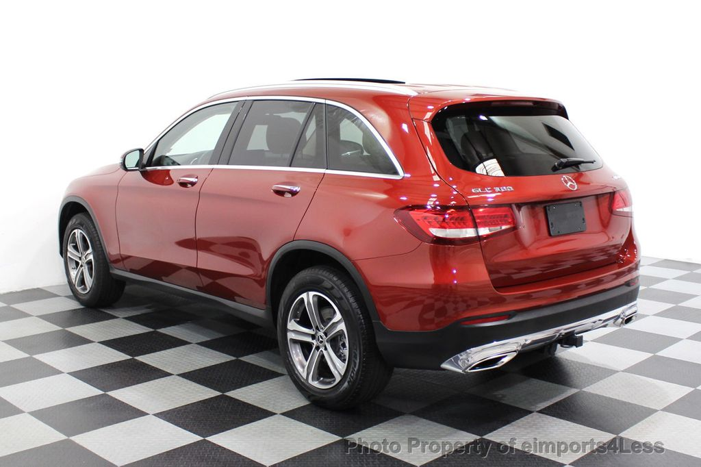 2018 Mercedes-Benz GLC CERTIFIED GLC300 4MATIC Pano Nav BLIS Camera - 18257420 - 48