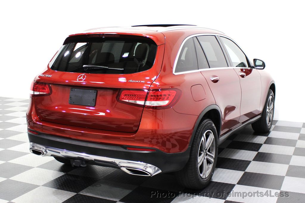 2018 Mercedes-Benz GLC CERTIFIED GLC300 4MATIC Pano Nav BLIS Camera - 18257420 - 49