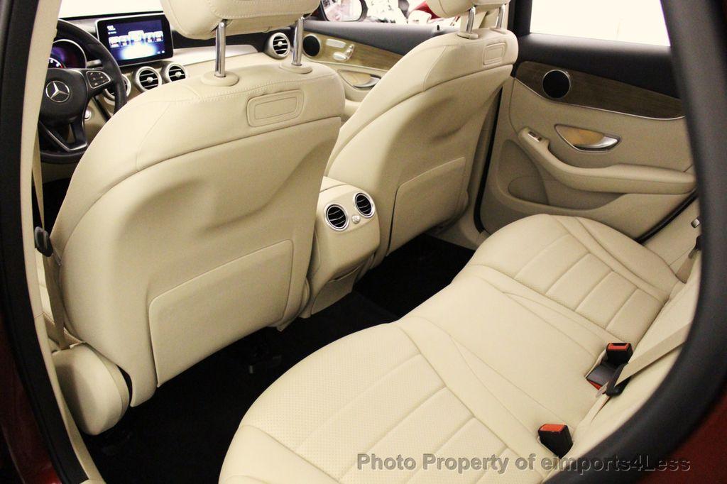 2018 Mercedes-Benz GLC CERTIFIED GLC300 4MATIC Pano Nav BLIS Camera - 18257420 - 52
