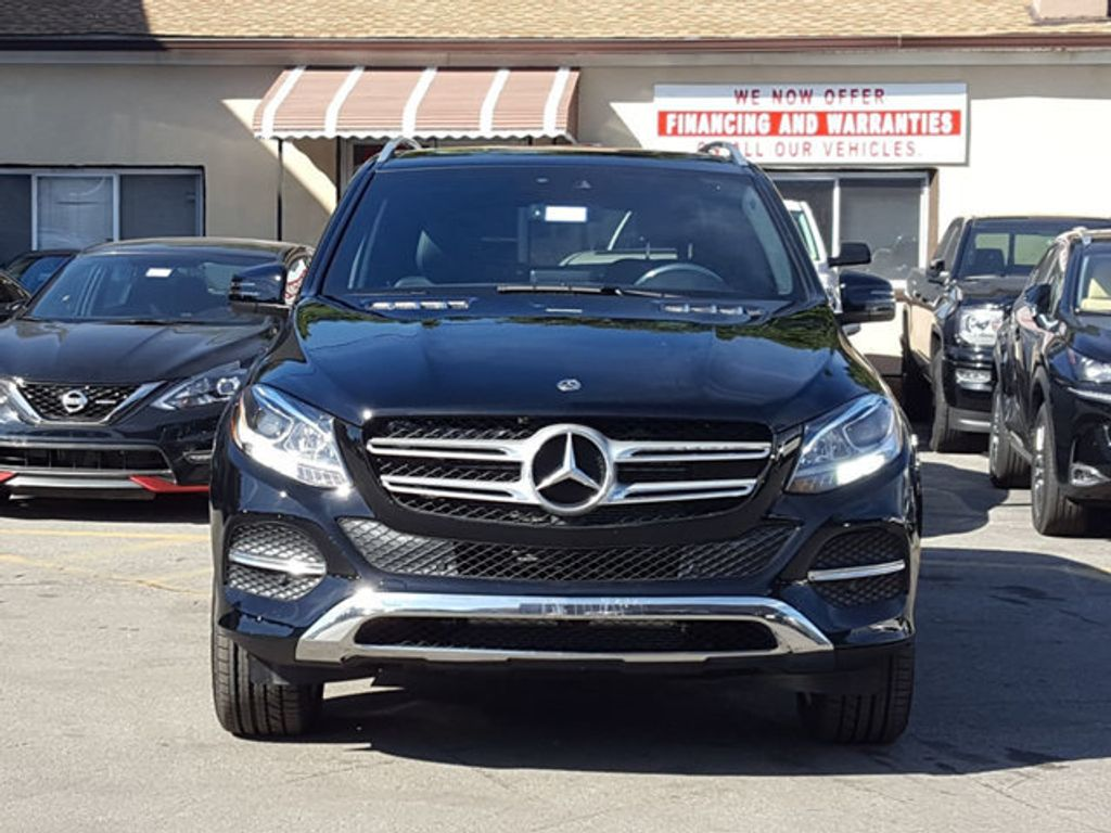 2018 Used Mercedes Benz Gle 350 4matic W Navigation At Saw Mill Auto