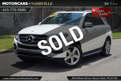 2018 Used Mercedes-Benz GLE GLE 350 SUV at MotorCars of Nashville - Mt  Juliet Serving Mt Juliet, TN, IID 18957940