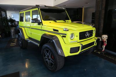2018 Mercedes-Benz G-Class G 550 4x4 Squared SUV