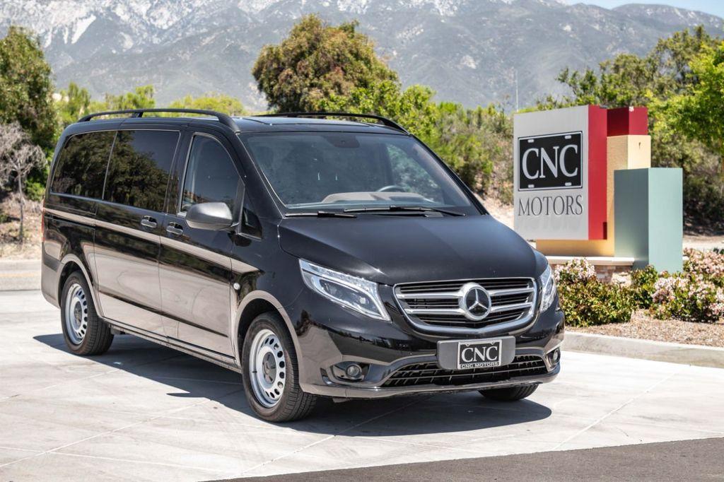 Mercedes Benz Minivan >> 2018 Used Mercedes Benz Metris Passenger Van Custom Metris Van At Cnc Motors Inc Serving Upland Ca Iid 18855646