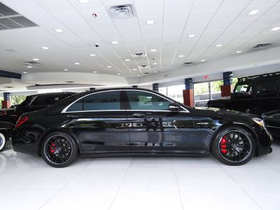2018 Mercedes-Benz  AMG S 63 4MATIC Sedan - Click to see full-size photo viewer