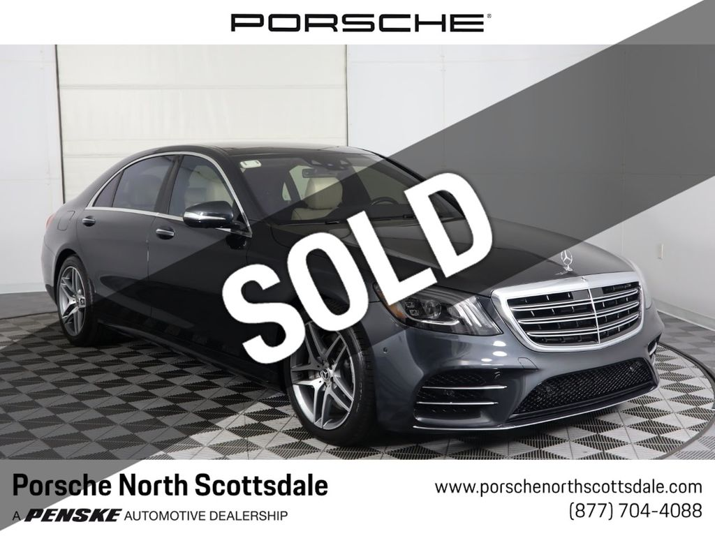 Mercedes Benz Of Scottsdale >> 2018 Used Mercedes Benz S Class S 560 Sedan At