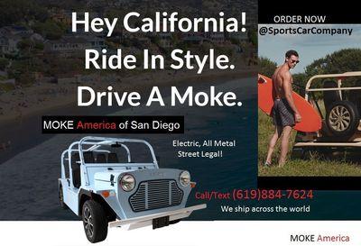 2018 MOKE America StreetBeachCruiser  - Click to see full-size photo viewer