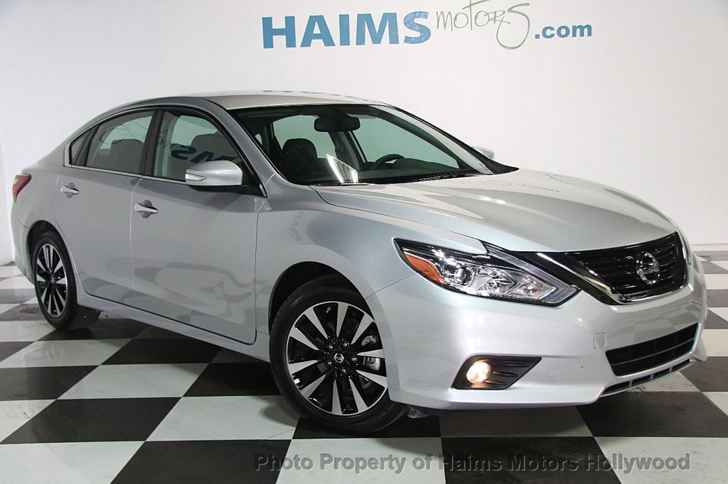 Nissan Fort Lauderdale >> 2018 Used Nissan Altima 2.5 SL Sedan at Haims Motors Hollywood Serving Fort Lauderdale ...