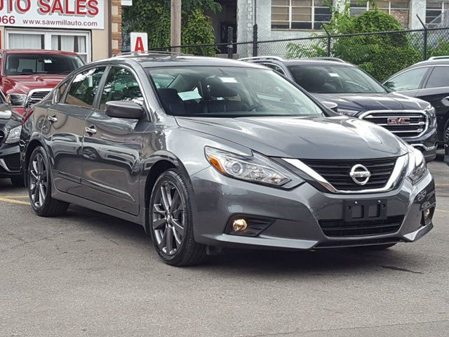 2018 Used Nissan Altima 2 5 Sr Special Edition W Navigation At Saw