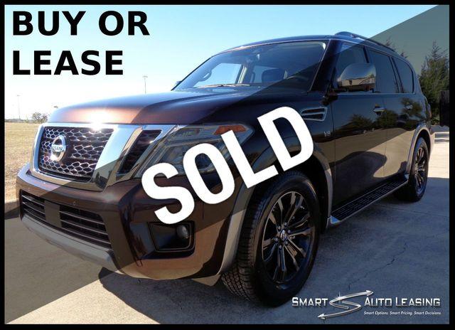 2018 Nissan Armada 4x2 Platinum w/NAV, SUNROOF, REAR BUCKET SEATS, DVD $58K MSRP