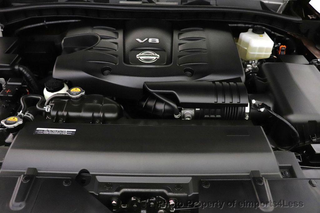 2018 Nissan Armada CERTIFIED ARMADA SL V8 4WD 8 PASSENGER CAM NAVI - 18448589 - 19