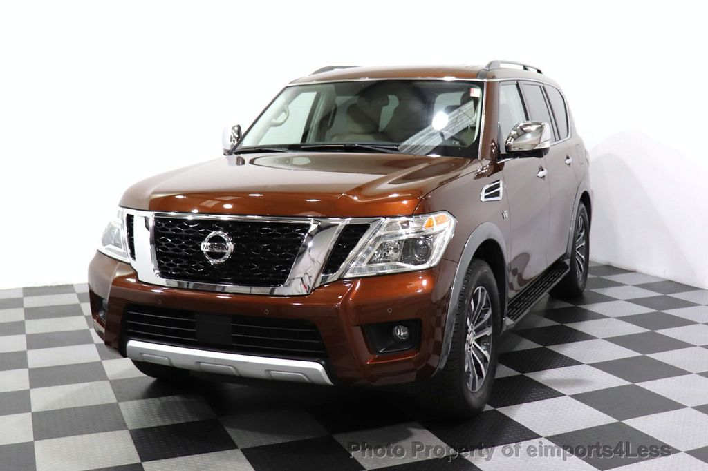 2018 Nissan Armada CERTIFIED ARMADA SL V8 4WD 8 PASSENGER CAM NAVI - 18448589 - 28