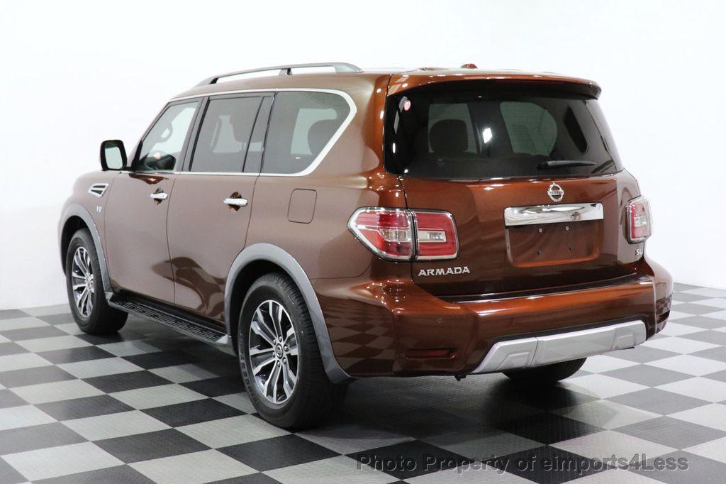 2018 Nissan Armada CERTIFIED ARMADA SL V8 4WD 8 PASSENGER CAM NAVI - 18448589 - 2