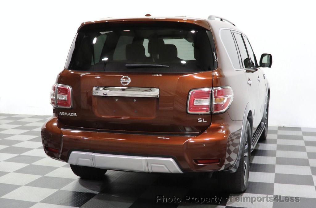 2018 Nissan Armada CERTIFIED ARMADA SL V8 4WD 8 PASSENGER CAM NAVI - 18448589 - 32
