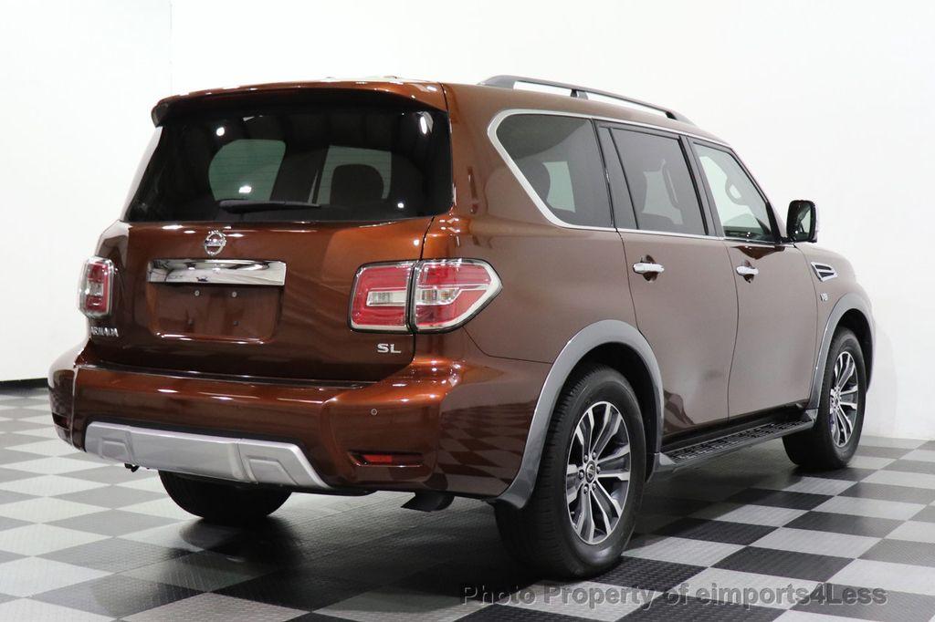 2018 Nissan Armada CERTIFIED ARMADA SL V8 4WD 8 PASSENGER CAM NAVI - 18448589 - 3