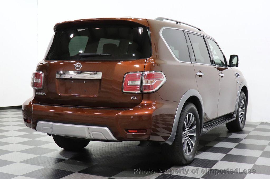 2018 Nissan Armada CERTIFIED ARMADA SL V8 4WD 8 PASSENGER CAM NAVI - 18448589 - 46