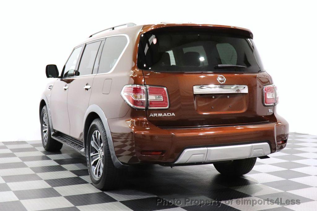 2018 Nissan Armada CERTIFIED ARMADA SL V8 4WD 8 PASSENGER CAM NAVI - 18448589 - 52