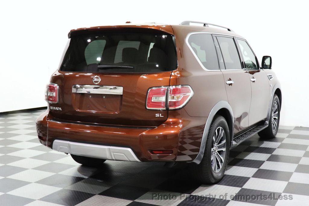 2018 Nissan Armada CERTIFIED ARMADA SL V8 4WD 8 PASSENGER CAM NAVI - 18448589 - 53
