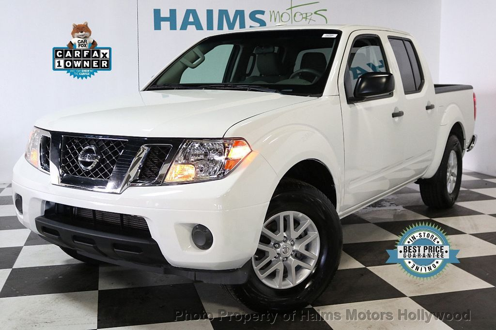 2018 Nissan Frontier Crew Cab 4x2 Sv V6 Automatic 17718853