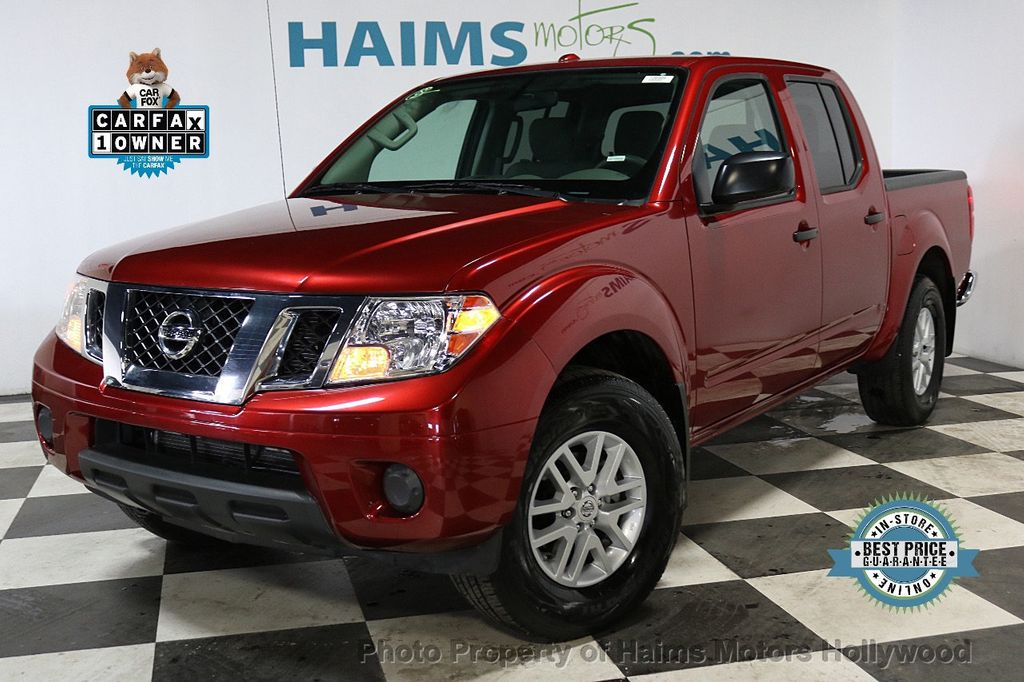 2018 Nissan Frontier Crew Cab 4x2 SV V6 Automatic - 18271928 - 0