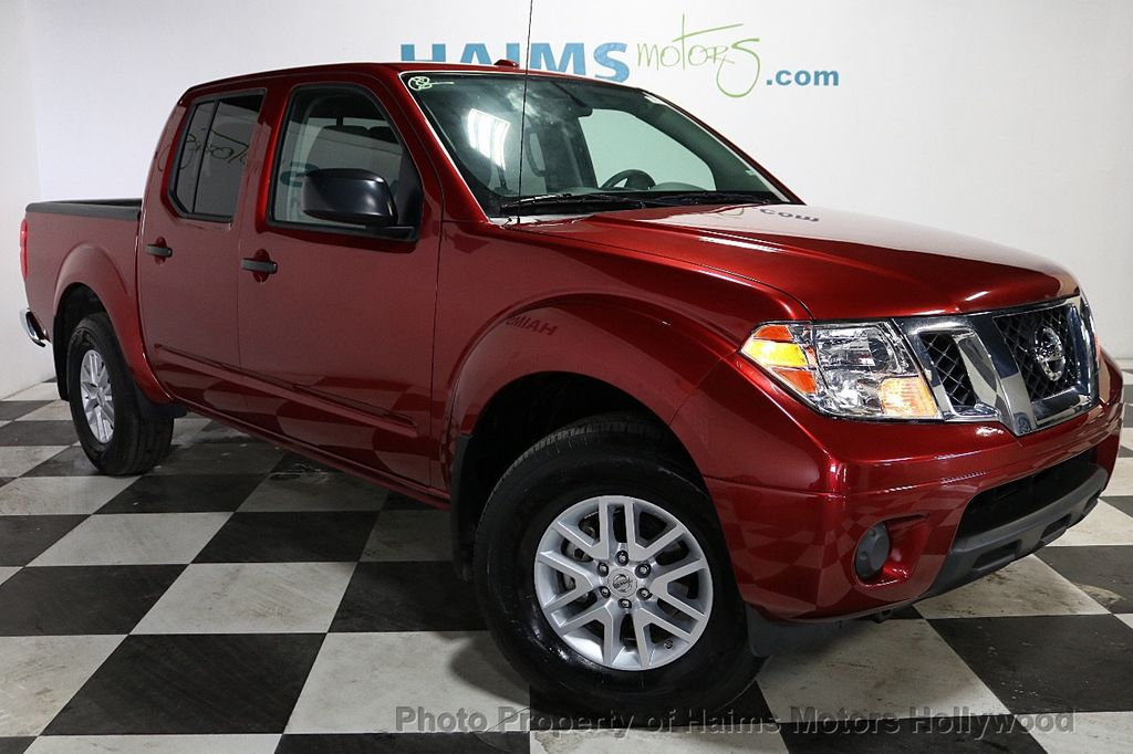 2018 Nissan Frontier Crew Cab 4x2 SV V6 Automatic - 18271928 - 3