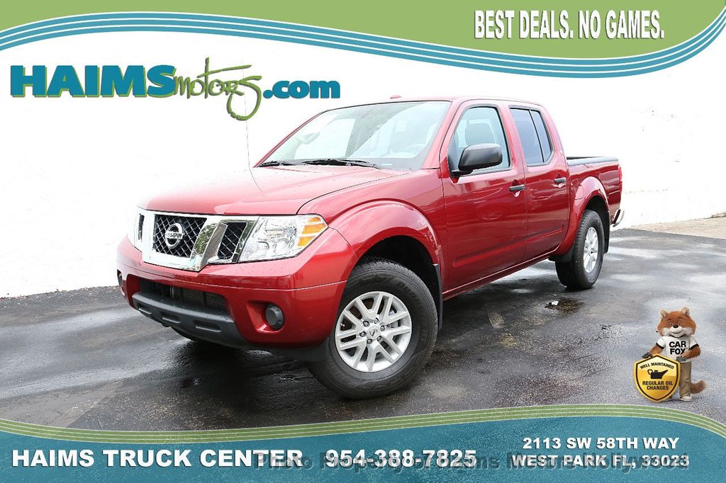2018 Nissan Frontier Crew Cab 4x4 SV V6 Automatic - 18069760 - 0