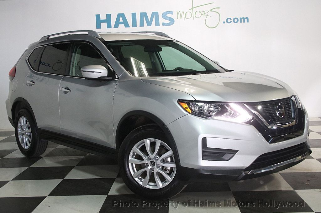 2018 Used Nissan Rogue Awd Sv At Haims Motors Serving Fort