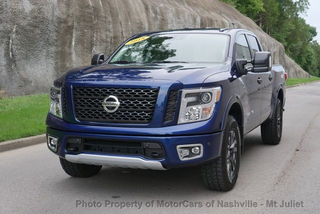 2018 Used Nissan Titan 4x4 Crew Cab PRO-4X CONVENIENCE PACKAGE at MotorCars  of Nashville - Mt Juliet Serving Mt Juliet, TN, IID 19092482