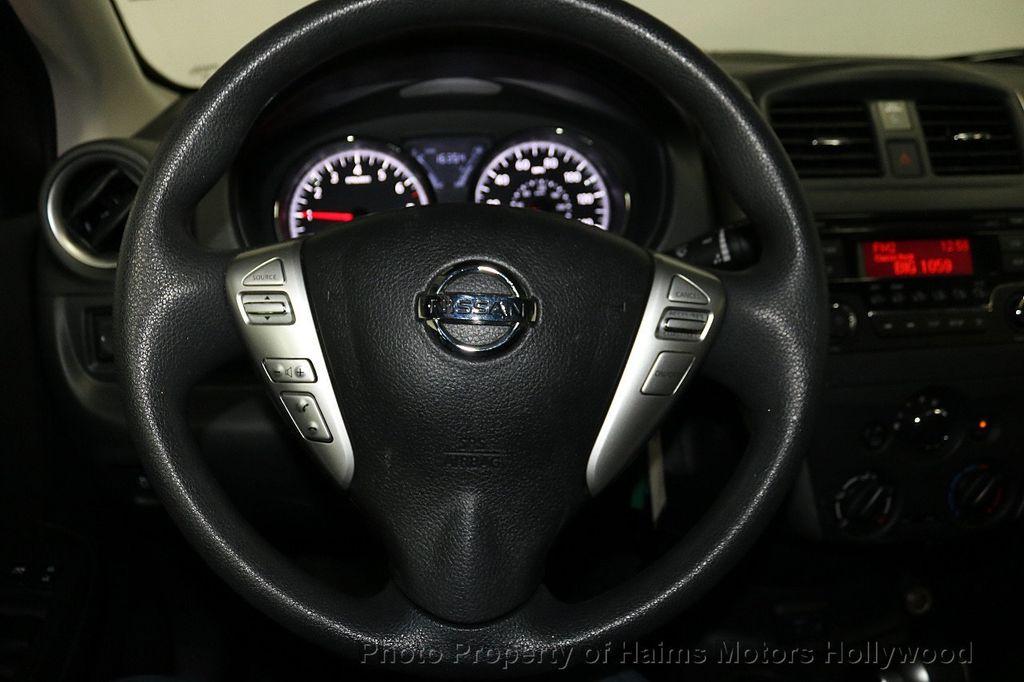 2018 Nissan Versa Sedan SV CVT - 18183654 - 25