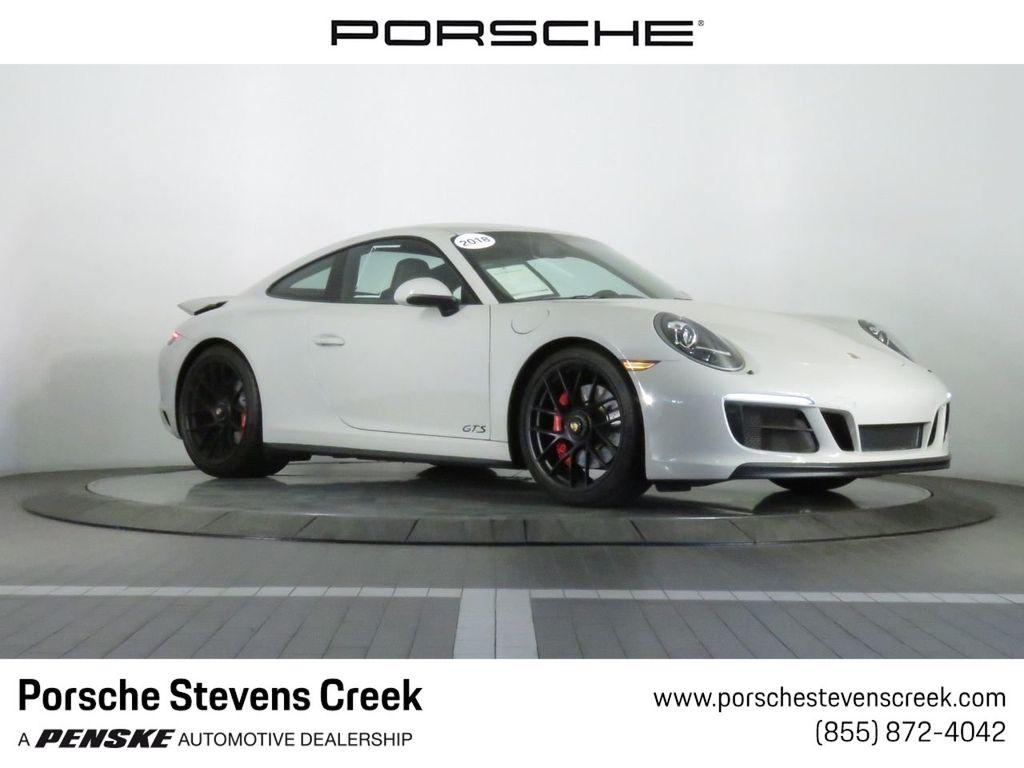 Porsche San Jose >> 2018 Used Porsche 911 Carrera Gts Coupe At Porsche Stevens Creek Serving Santa Clara San Jose Ca Iid 19404647