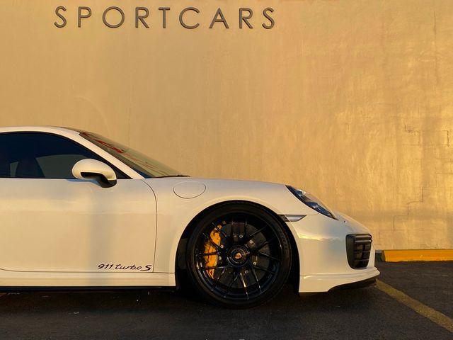 2018 Porsche 911 Turbo S
