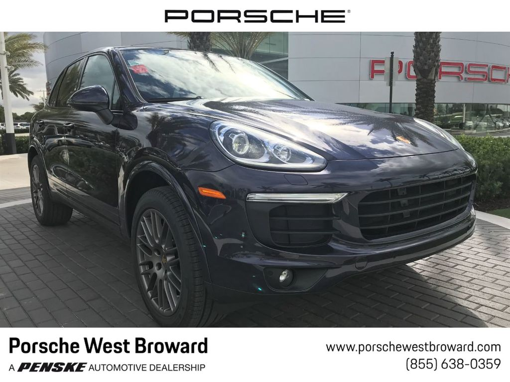 2018 Porsche Cayenne Suv Click To See Full Size Photo Viewer
