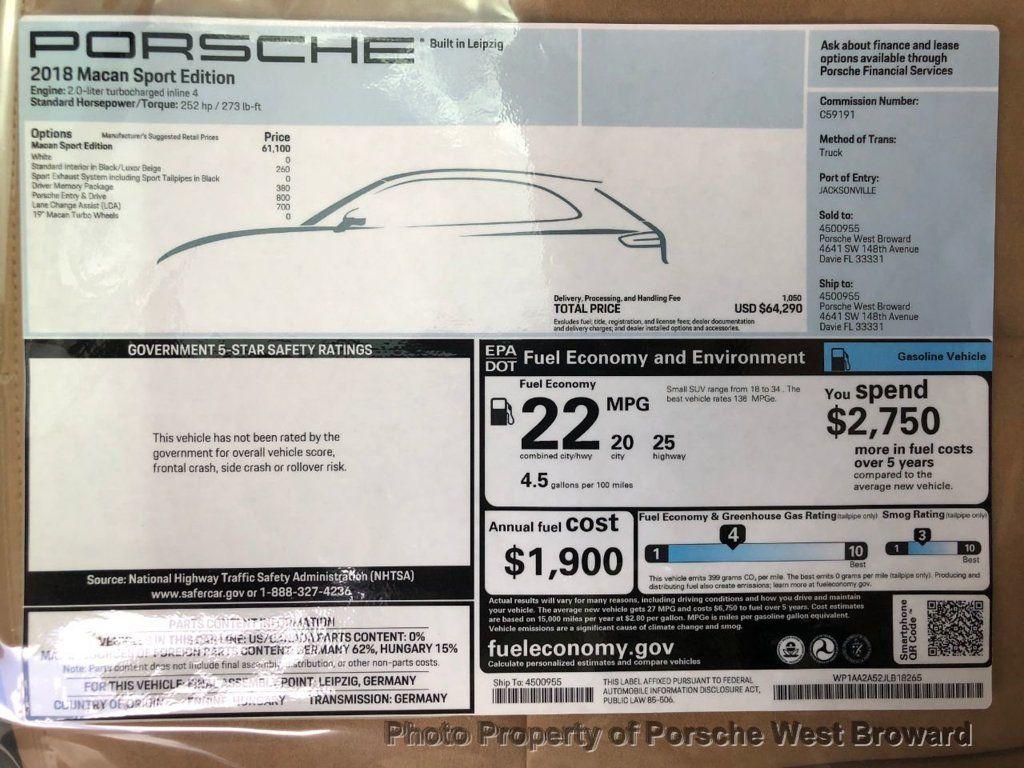2018 Porsche Macan Sport Edition - 18050101 - 23