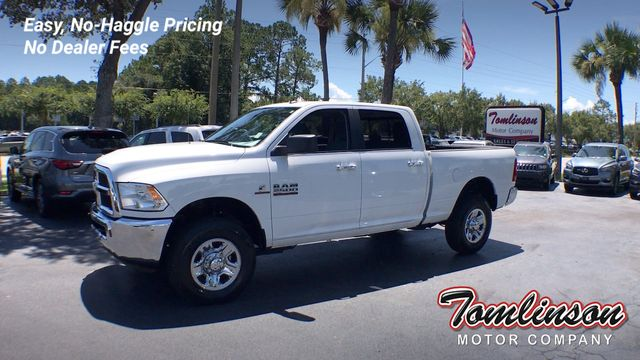 Used Ram 2500 >> 2018 Used Ram 2500 4x4 Crew Cab Slt 6 7l Cummins Diesel At Tomlinson Motor Company Serving Gainesville Fl And The Southeast Fl Iid 19151266