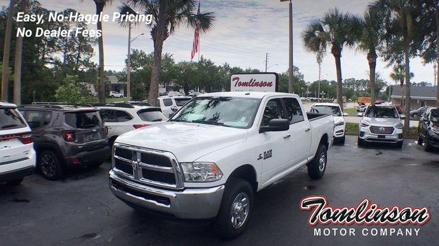 Used Ram 2500 >> 2018 Used Ram 2500 4x4 Crew Cab Slt 6 7l Diesel At Tomlinson Motor Company Serving Gainesville Fl And The Southeast Fl Iid 19087710