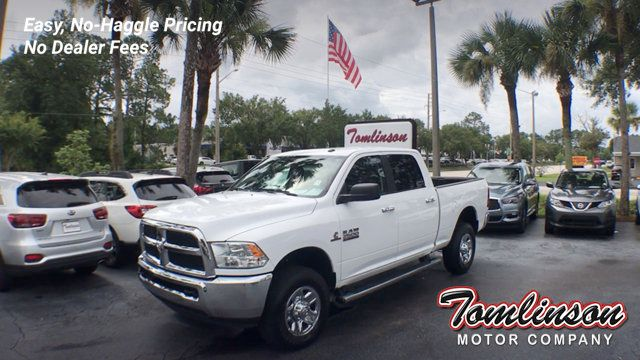 Used Ram 2500 >> 2018 Used Ram 2500 4x4 Crew Cab Slt 6 7l Diesel At Tomlinson Motor Company Serving Gainesville Fl And The Southeast Fl Iid 19151267