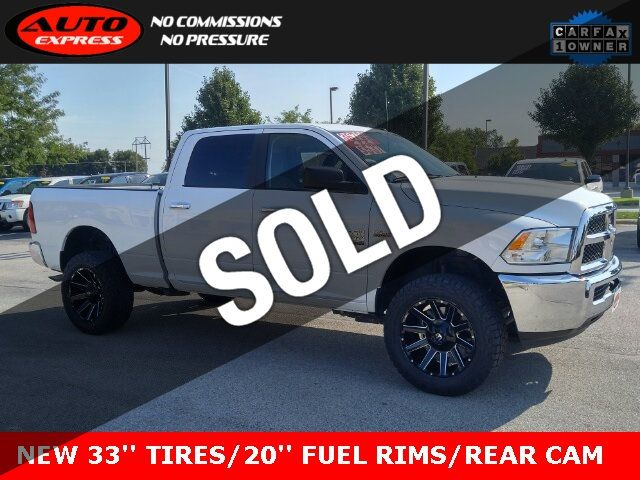 Used Ram 2500 >> 2018 Used Ram 2500 Slt Crew Cab 4x4 20 Fuel Contra Rims 33 Cooper At3 New Tires At Auto Express Lafayette In Iid 19313387