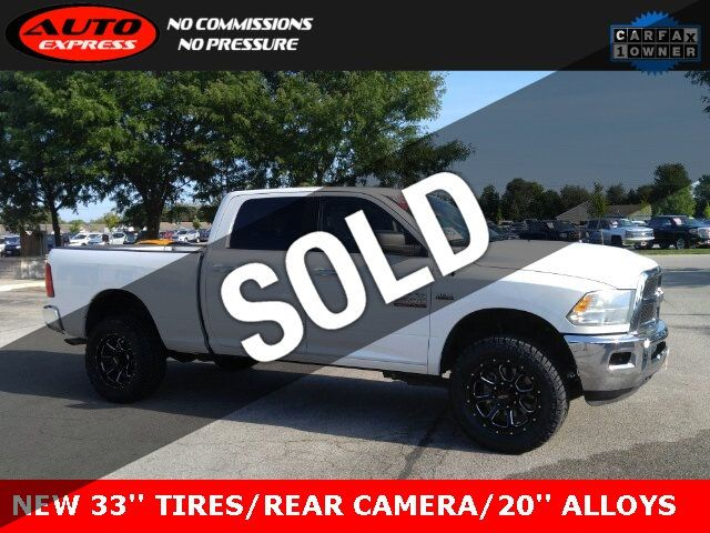 Used Ram 2500 >> 2018 Used Ram 2500 Slt Crew Cab 4x4 20 Premium Alloys 33 New Tires Touch Screen At Auto Express Lafayette In Iid 19227822
