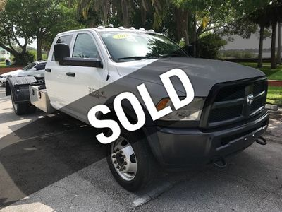 """2018 Ram 5500 Chassis Cab SLT 4x4 Crew Cab 84"""" CA 197.4"""" WB - Click to see full-size photo viewer"""