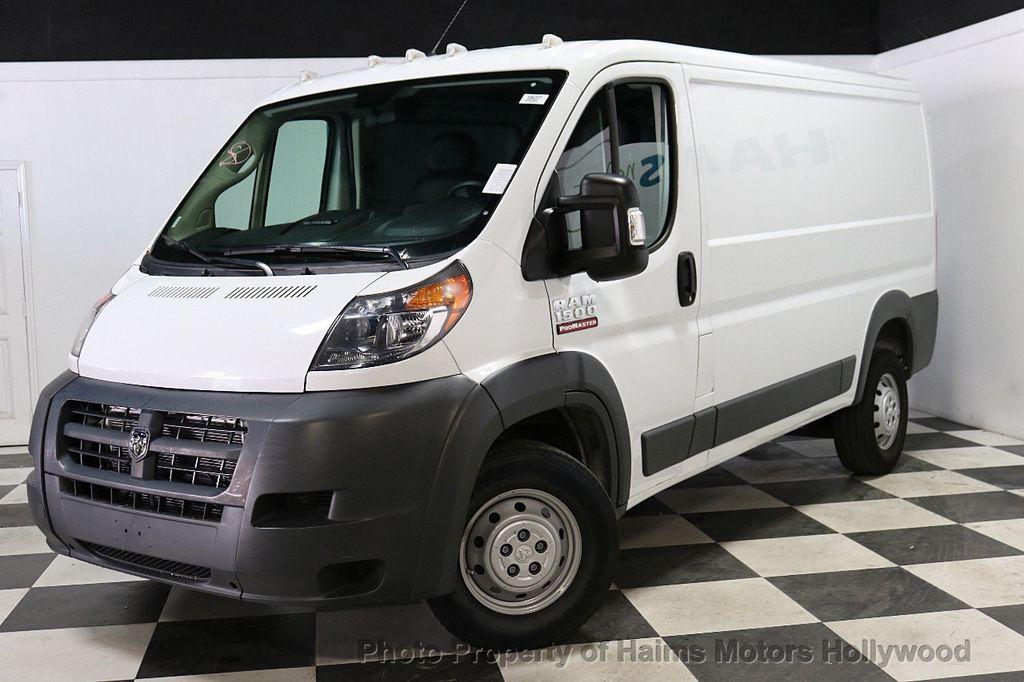 "2018 Ram ProMaster Cargo Van 1500 Low Roof 136"" WB - 18020545 - 1"