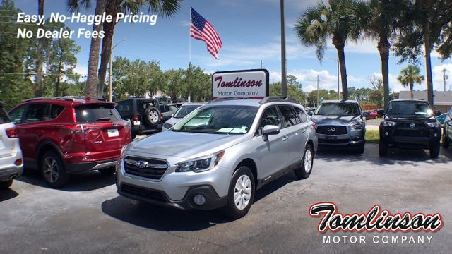 2018 Used Subaru Outback 2 5I PREMIUM W/ EYESIGHT at Tomlinson Motor  Company Serving Gainesville, FL, and the Southeast, FL, IID 19176014