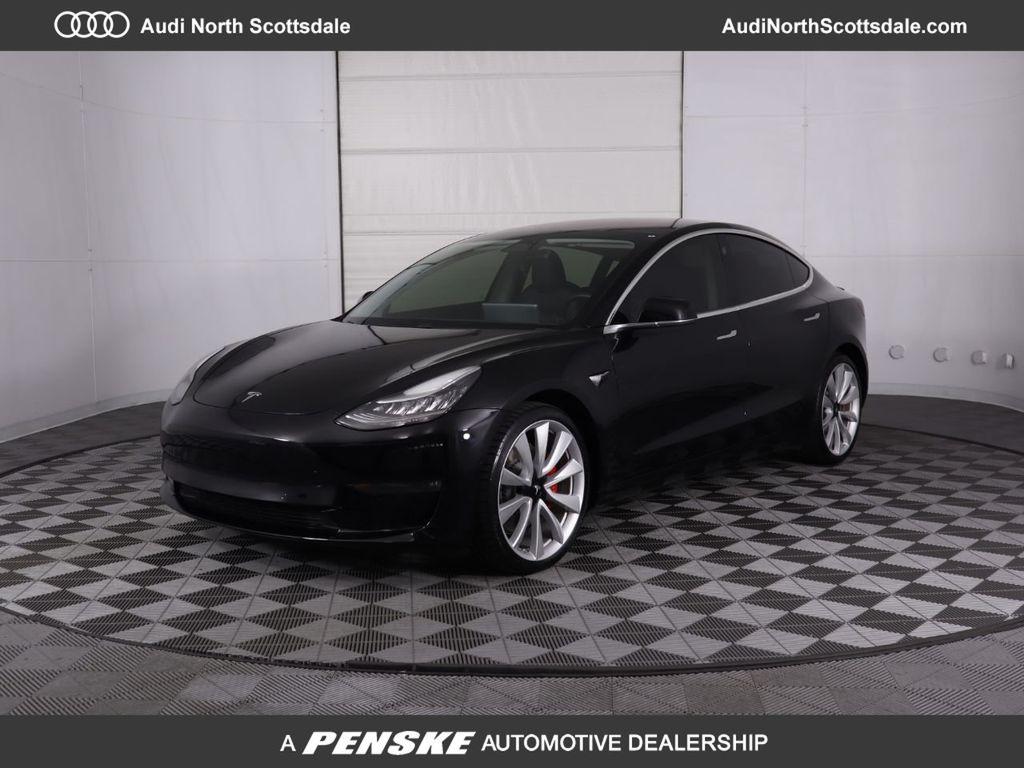 2018 Used Tesla Model 3 Long Range Battery Awd At Mini Of Tempe Az Iid 20309650