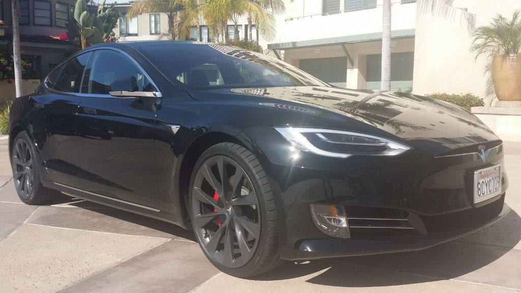 2018 used tesla model s p100d awd at sports car company. Black Bedroom Furniture Sets. Home Design Ideas