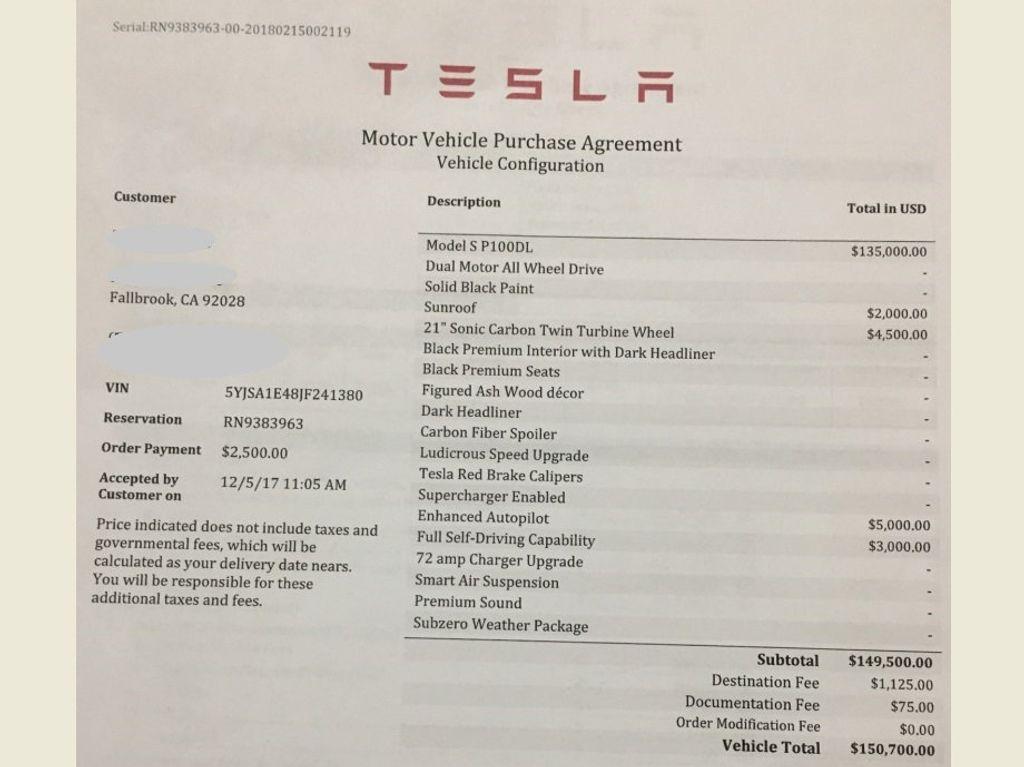 2018 Tesla Model S P100D AWD - 17522451 - 6
